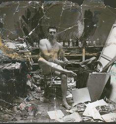 "John Deakin, ""George Dyer in the Reece Mews Studio"" (c. Francis Bacon lived and worked in 7 Reece Mews, South Kensington, London Famous Artists, Great Artists, Artist Art, Artist At Work, Jackson Pollock, Francis Bacon Studio, Michel Leiris, Robert Motherwell, Richard Diebenkorn"