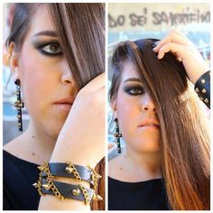 #instamakeup #smokey #black #crow #style #tagsforlikes #igaaddicted #instagrammer #instagood #fashion #scattiitaliani #followme #luisa #luigia