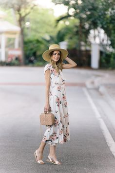 Little Blonde Book A Fashion Blog by Taylor Morgan: We All Need A Little Floral In Our Life