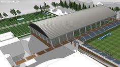 New UNC Soccer/Football Facilities