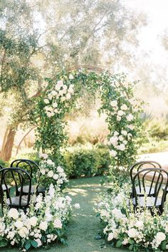 French garden wedding inspiration. Photo: @maryclaire_photography