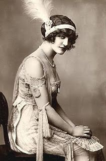 Woman from the 1920's.