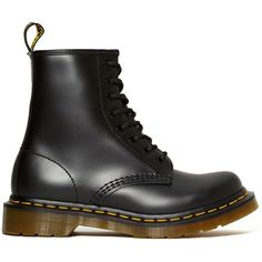 Dr. Martens 8-Tie Boot found on Polyvore