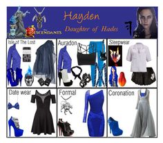 """Hayden. Daughter of Hades"" by elmoakepoke ❤ liked on Polyvore featuring Disney, Black, Yiqing Yin, Morgan, Paolo Shoes, River Island, Boohoo, Aspinal of London, Miso and London Trash"