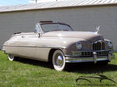 1949 Packard Super 8 Convertible Victoria Maintenance/restoration of old/vintage vehicles: the material for new cogs/casters/gears/pads could be cast polyamide which I (Cast polyamide) can produce. My contact: tatjana.alic@windowslive.com