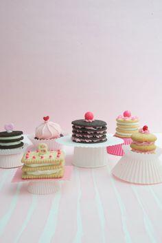 Cookie Cakes DIY - Jordan Ferney   Oh Happy Day!