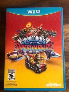 Wii U Skylanders Superchargers on Mercari Skylander Toys, Wii U Games, Game Room Decor, Skylanders, Cover Art, Strong, Club, Products, Gadget