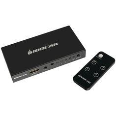 IOGEAR GHDSW4K4 4K 4-Port HDMI(R) Switch with Remote