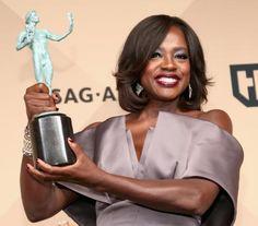 Viola Davis Speaks Out on Diversity at SAG Awards