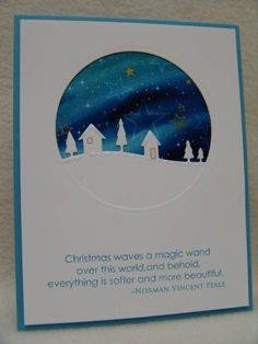 CAS186 Alaska Winter Village by suen - Cards and Paper Crafts at Splitcoaststampers