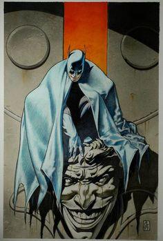 xombiedirge: Batman by Tanino Liberatore - Living life one comic book at a time. Nightwing, Batgirl, Catwoman, Arte Dc Comics, Dc Comics Art, Gotham, Comic Books Art, Comic Art, Batman Artwork