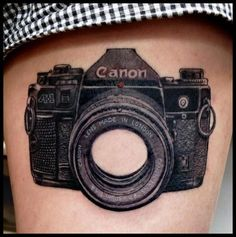 camera tattoo arm - Google Search