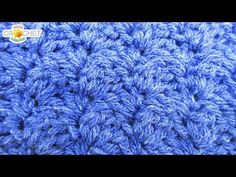 Falling Leaves Crochet Stitch - Calendar Blanket - April - YouTube