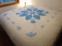 Vintage Bed Spread Bed Linens  Vintage Fabrics by bluejeanjulie, $35.00