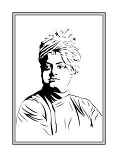 Abstract Pencil Drawings, Easy Drawings Sketches, Sketches Tutorial, Cute Drawings, Shadow Painting, Black Art Painting, Swami Vivekananda Wallpapers, Messi Drawing, Temple Drawing