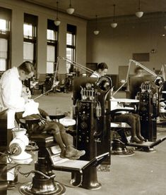 history of Dentistry image | ... waiting rooms of eastman s dental clinics dentistry at the university