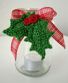 Xmas jar decoration