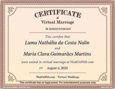 Marriage Certificate - Virtual weddings for fun by WEDonWEB. Bb, Aesthetic Pastel, Aesthetic Art, Aesthetic Painting, Aesthetic Movies, Aesthetic Videos, Aesthetic Makeup, White Aesthetic, Aesthetic Fashion