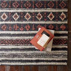 jute rug for global flair