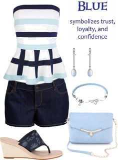 """Blue"" by ding1 on Polyvore"