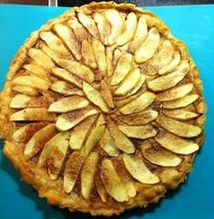 Apple cinnamon tart