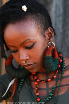 FASHION: The handmade creations of Manaka - AFROPUNK