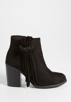 hailey bootie with f
