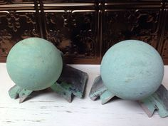 antique ridge barn roof architectural steampunk ball finial salvage old on Etsy, $69.99