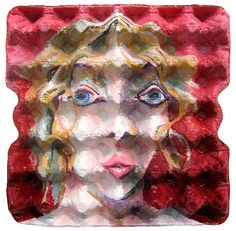 EggCubism - something to try with all those egg cartons!