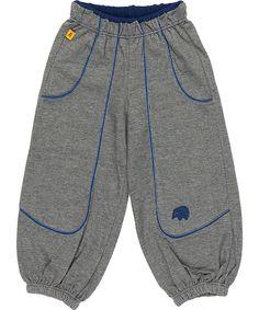 Pantalon baggy gris super rétro par Albababy. albababy.fr.emilea.be