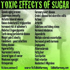 Toxic effects of sugar; diet high in added sugar reduces the production of a brain chemical known as brain-derived neurotrophic factor (BDNF). Without BDNF, our brains can't form new memories and we can't learn (or remember) much of anything.Research has also linked low BDNF levels to depression and dementia