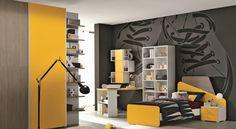Kids Bedroom Furniture, Furniture Design, Bedroom Decor, Boy Girl Bedroom, Girl Room, Modern Teen Bedrooms, Kids Room Design, Modern Kitchen Design, Decoration
