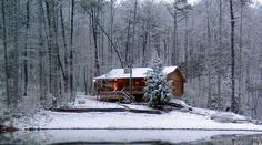 'Lucky Lake' is a secluded log cabin, on a spring fed lake, located in the famous Blue Ridge Mountains. Only 90 minute drive north of Atlanta, situated between Blue Ridge and Ellijay, Georgia. Wi-Fi is available. ...