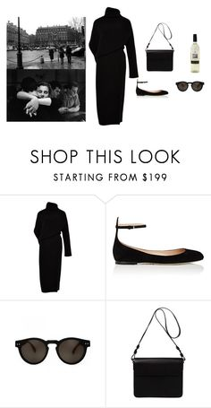 """""""Lovers now lost"""" by stradlatersgirl on Polyvore featuring Acne Studios, Valentino, Illesteva and Orla Kiely"""