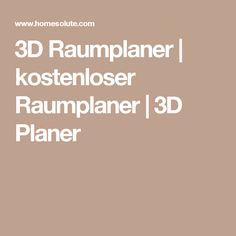 3D Raumplaner | kostenloser Raumplaner | 3D Planer