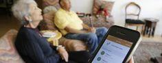 High-tech sensors help kids keep an eye on aging parents. (Eric Risberg/AP)