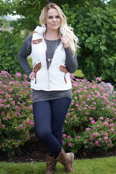 Quilted Hooded Vests - Small-XL