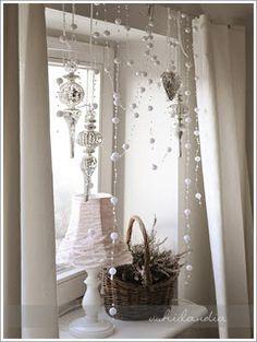 ;): świąteczne dekoracje okna