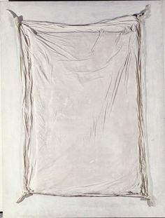 Tàpies, Antoni: Gran llençol (Gran sábana)