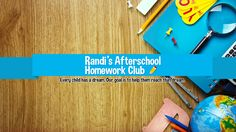 At Randi's After School Home Work Club, We Care for Kids! With so many demands on today's families, parents need all the support they can get for after school care. We provide a safe, structured, and fun environment for children between the ages of 5 and 12. My In-Home Club meets all of your needs by providing safety, homework support, recreation, and enrichment for your child after school. Homework Club, After School Care, On Today, Your Child, Children, Kids, Families, Safety, Parents