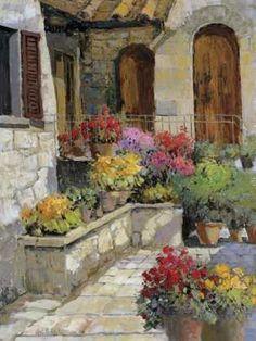 Vertine Doorway by  Kent Wallis