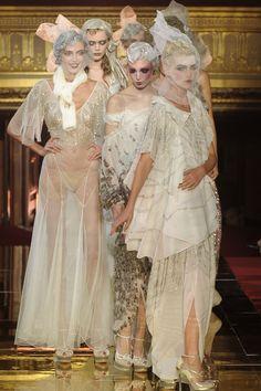 John Galliano at Paris Fashion Week Spring 2011 - StyleBistro