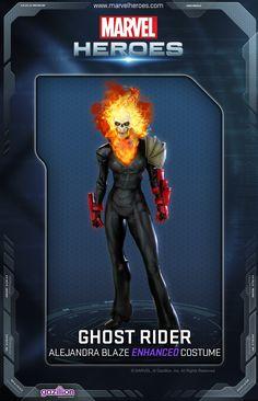 Ghost Rider *ENHANCED* Alejandra Blaze Costume