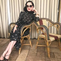 "6,271 Likes, 36 Comments - Dita Von Teese (@ditavonteese) on Instagram: "" @daviddownton #chateaumarmont"""