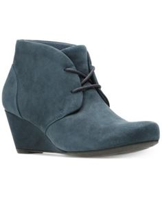 CLARKS Clarks Women's Flores Rose Booties. #clarks #shoes #