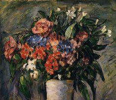 Pot of Flowers - Paul Cezanne
