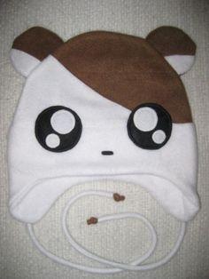 Anime Fleece Hat hamster - Cosplay Character Cute Kawaii | HappiBoshi - Accessories on ArtFire