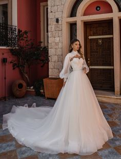 Long Sleeve Gown, Long Sleeve Wedding, Long Wedding Dresses, Bridal Dresses, Dress Wedding, Sleeve Wedding Gowns, Wedding Dress Cape, Simple Wedding Gowns, Victorian Wedding Dresses
