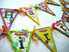 Crafty Sisters: A Happy Birthday Banner