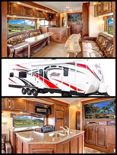 . Toy Hauler Trailers, Airstream, Life, Travel Trailers